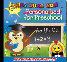 Personalized Preschool Songs
