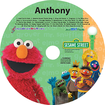 Elmo and Friends music CD
