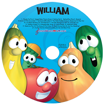 VeggieTales music CD