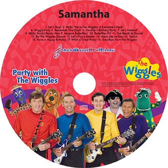 Wiggles music CD
