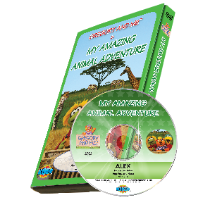 Gregory and Me: Amazing Animal Adventure DVD