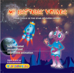My Neptune Voyage interactive storybook CD