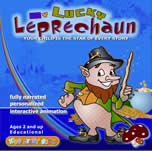 My Lucky Leprechaun interactive storybook CD
