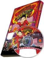 The Incredible Adventures of Amazing Kid Photo Personalized DVD