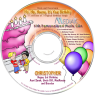 Hip Hip Hooray It's Your Birthday CD