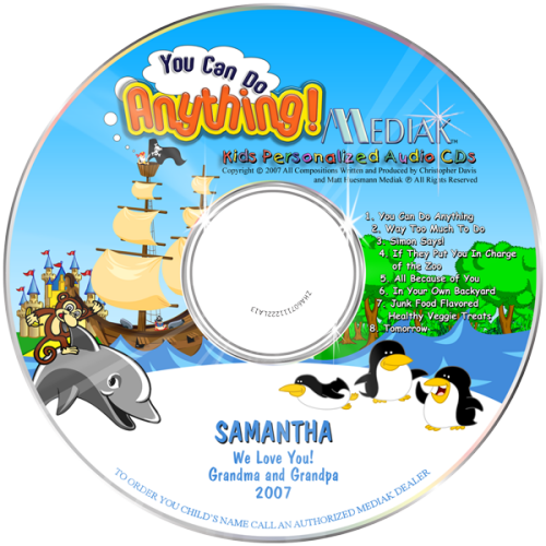 You Can Do Anything CD