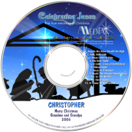 Celebrating Jesus - Personalized Christmas CD