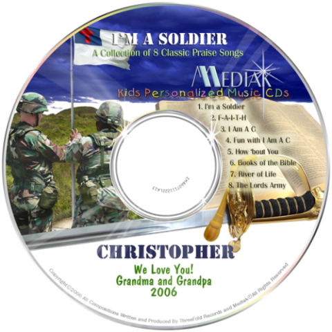 I'm a Soldier - Christian Music CD