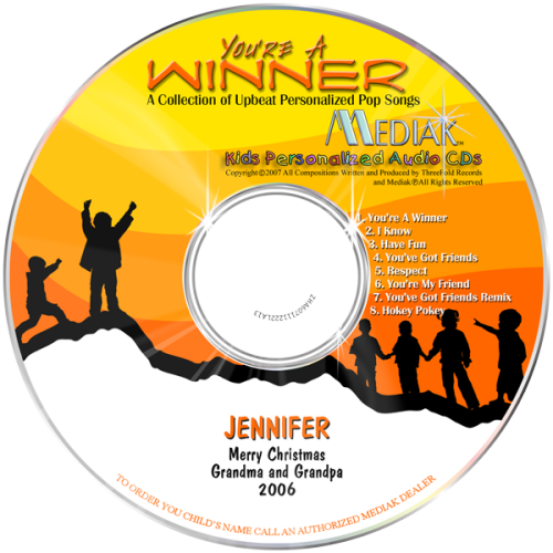 You Are You Are A Winner Music CD