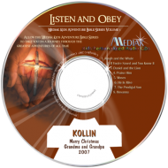 Listen and Obey - Christian Music CD