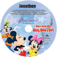 Sing Along With Mickey, Minnie and Goofy CD