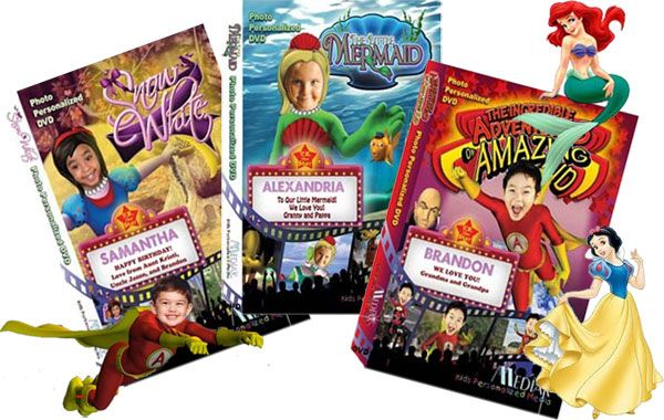 Photo Personalized DVDs