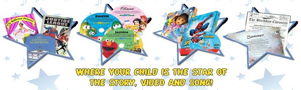 Personalized Music CDs, Personalized DVDs and Personalized Children's Books